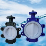 High Performance Wafer Lugged Butterfly Valve