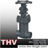 Forged Steel Bellows Seal Gate Valve