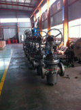 High Pressure Expanding Gate Valve with Bypass Valve