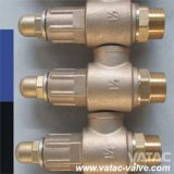 Enclosed Cap Bronze Safety Valve
