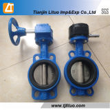 Cast Iron Ductile Iron Wcb Strainless Steel Wafer Flange Butterfly Valve