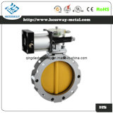 Pneumatic High Vacuum Butterfly Valve with Air/Water/Oil/Gas