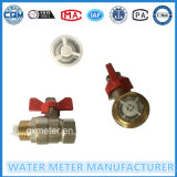 Brass Ball Valves for Water Meter of Dn15-40mm