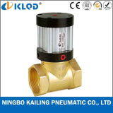 Q22HD-20 2/2 Way Piston Type Brass Material Pneumatic Steam Control Valve