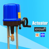 Explosion-Proof Electric Actuator with Angle Turn and Straight Stroke
