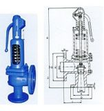 900 DIN Spring Loaded Pressure Safety Valve