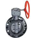 Competitive Price Plastic PVC Handle Type Butterfly Valve