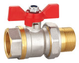Nickel Plated Forged Brass Ball Valve