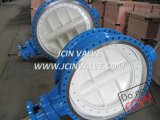 Pneumatic Butterfly Valve with ISO Top Flange (D043H)