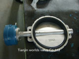CF8m Wafer Type Butterfly Valve