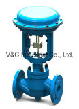 Control Globe Valve with Pneumatic Actuator