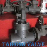 800lb Big Size 4 Inch Forged Steel Gate Valve