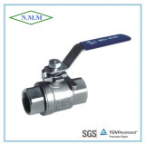 Full Bore Threaded End DIN Standard 2PC Ball Valve in 1000wog