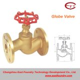 Cheap Price Casting Copper Flange Globe Valves