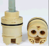 Plastic Ceramic Faucet Cartridge Side Outlet with Distributor Gw-35gp
