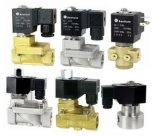 Piloted Water Solenoid Valves (SLP SERIES)