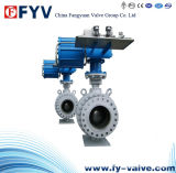 API 6D Trunnion Mounted Ball Valve with Pneumatic Actuator
