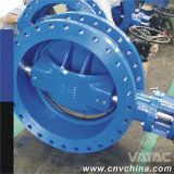 Manual Operated Flange Cast Steel Butterfly Valve