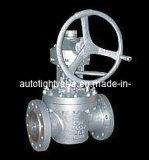 Lift Plug Valve- Cast Steel, Flanged Connection