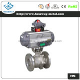 Pneumatic Regulating Valve Ball Valve with Flange