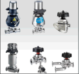 Sanitary Welded Straight Diaphragm Valve Ss304/316L Free Samples Made in China