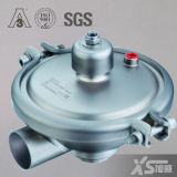 Stainless Steel Pneumatic Hygienic Pressure Control Valve