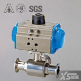 Stainless Steel Sanitary Pneumatic Actuator Ball Valves