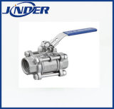 1000wog 3PC Stainless Steel Ball Valve