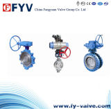 Wafer/Lug Type Three-Dimensional Eccentric Butterfly Valve