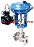 Cage-Guided Control Globe Valve with Electric Actuator