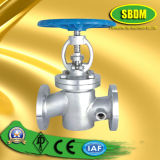 Jacket Coated Globe Valve with Hand Wheel