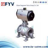 API Floating Ball Valve with Electric Actuator