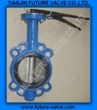 Pn10/16 Multi Drilling Wafer Type Butterfly Valve (D71X)