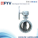 Wafer Type Cast Steel Metal Seated Butterfly Valves