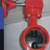 Pn16/ANSI 150 Lbs Clamped&Grooved Butterfly Valve