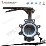 API Standard Manual Lug Type Stainless Steel Butterfly Valve