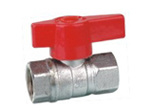 Brass Ball Valve with Plastic Handle (KX-BV02)