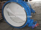 Tri Eccentric Butterfly Valve with ISO Top Flange (D043H)