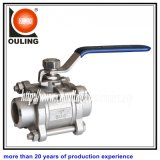 Stainless Steel 3-PC Weld Ball Valve