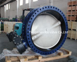 Stainless Steel Disc Double Flange Butterfly Valve