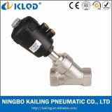 2 Way Stainless Steel Pneumatic Angle Seat Valve (KLJZF-15)