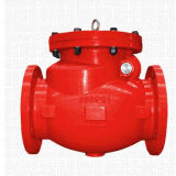 Ductile Iron Swing Type Check Valve with Flange End