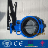 Wafer Type Stainless Steel Butterfly Valve with CE