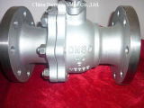 DIN Steel Flanged Ball Valve