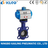 Wafter Type Pneumatic Butterfly Valve for Water Industrial Usage