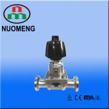 Stainless Steel Mini Manual Clamped Diaphragm Valve (ISO-No. RG0206)