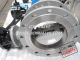 Stainless Steel Butterfly Valve with GOST Standard (D343F)