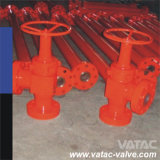 API 6A Cast Steel Manual Operated Drilling Choke Valve