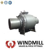 API 608 6D Bs 5351 DIN Floating Ball Valve Wcb/CF8m