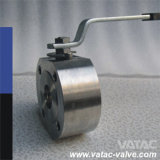 Cast or Forged Stainless Steel Italy Wafer Ball Valve with One Piece Thin Body